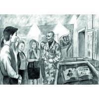 36. «Пам'ятаємо разом». Діана Петрасюк, 16 років.«Символи Гідності».