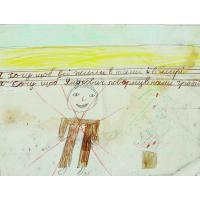 71. Малюнок був розміщений у штабі Майдану в КМДА, 2014 р. Зі збірки Національного музею Революції Гідності.